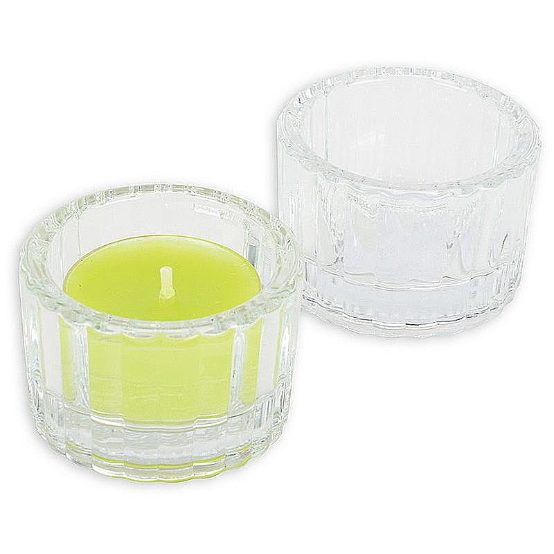 Teelichthalter shine aus glas rund g nstig online bestellen for Kuchenruckwand aus glas gunstig