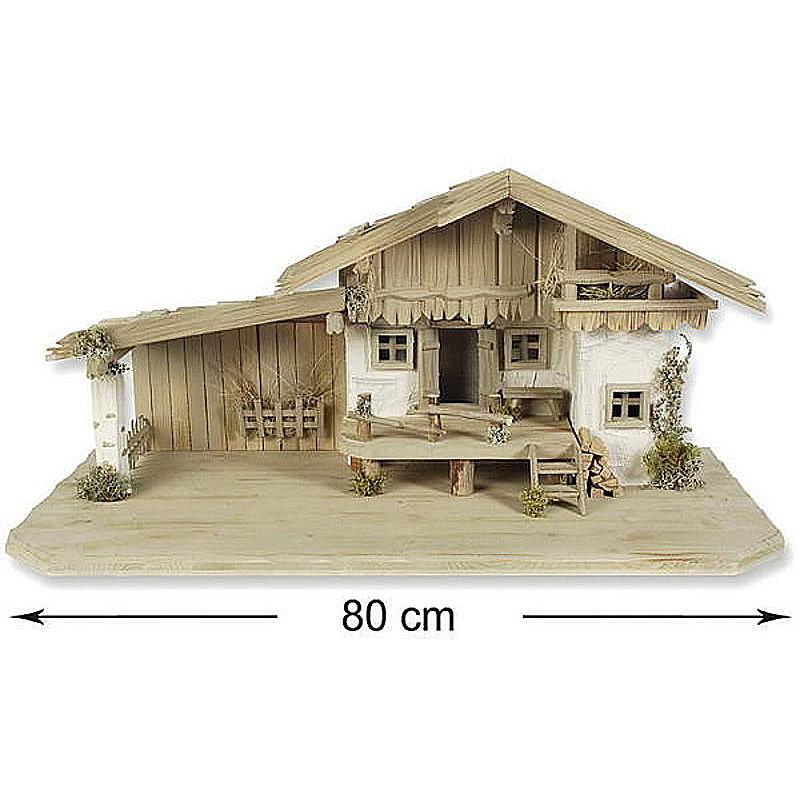 Holz-Krippenstall Rachel alpenländisch günstig online bestellen