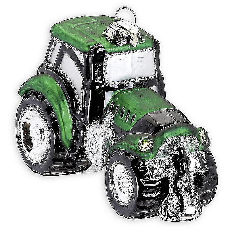 baumschmuck traktor aus glas g nstig online bestellen. Black Bedroom Furniture Sets. Home Design Ideas