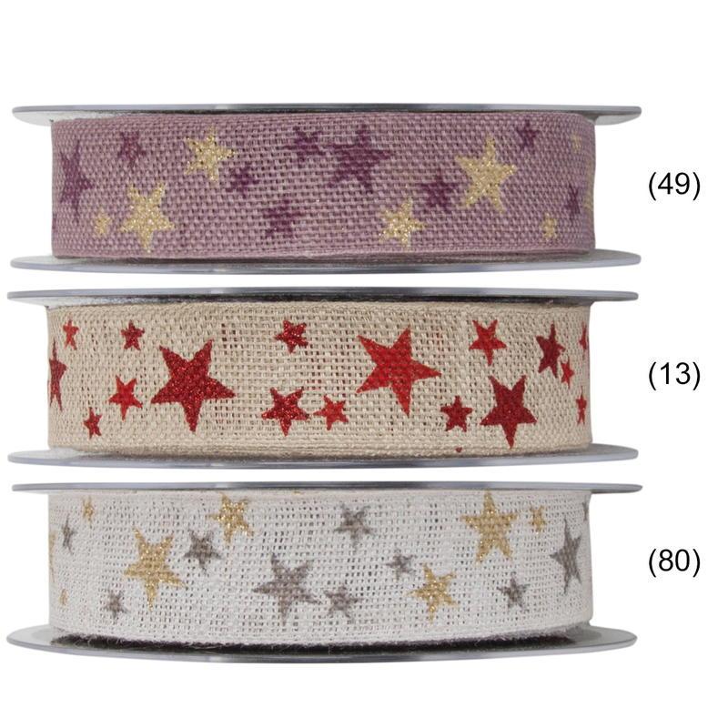 Weihnachtsdeko Günstig Bestellen.Dekoband Winterheaven Schleifenband Geschenkband Zur Weihnachtsdeko