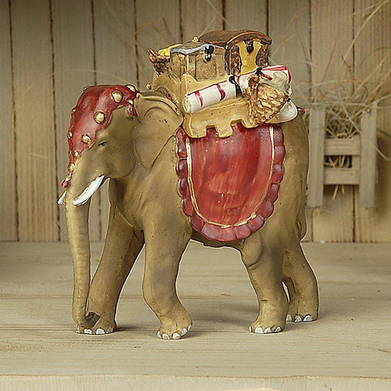 elefant mit gep ck mathias krippenfigur einzeln g nstig online bestellen. Black Bedroom Furniture Sets. Home Design Ideas