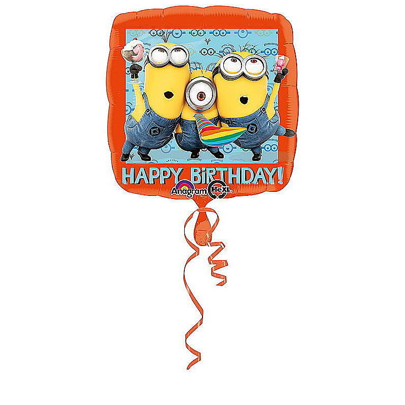 Folienballon Minions Happy Birthday