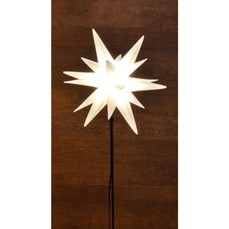 Gartenstecker Led Stern 3d Led Beleuchtung Aussen Led Stern Beleuchtet Dekostecker Gunstig Online Bestellen