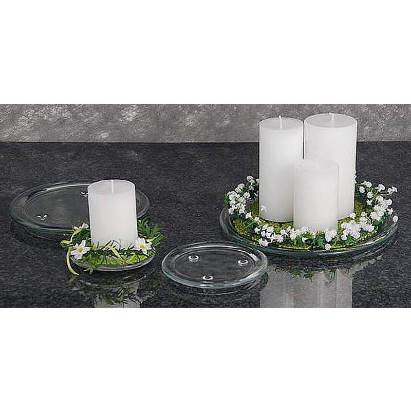 Kerzenteller aus glas g nstig online bestellen for Kuchenruckwand aus glas gunstig