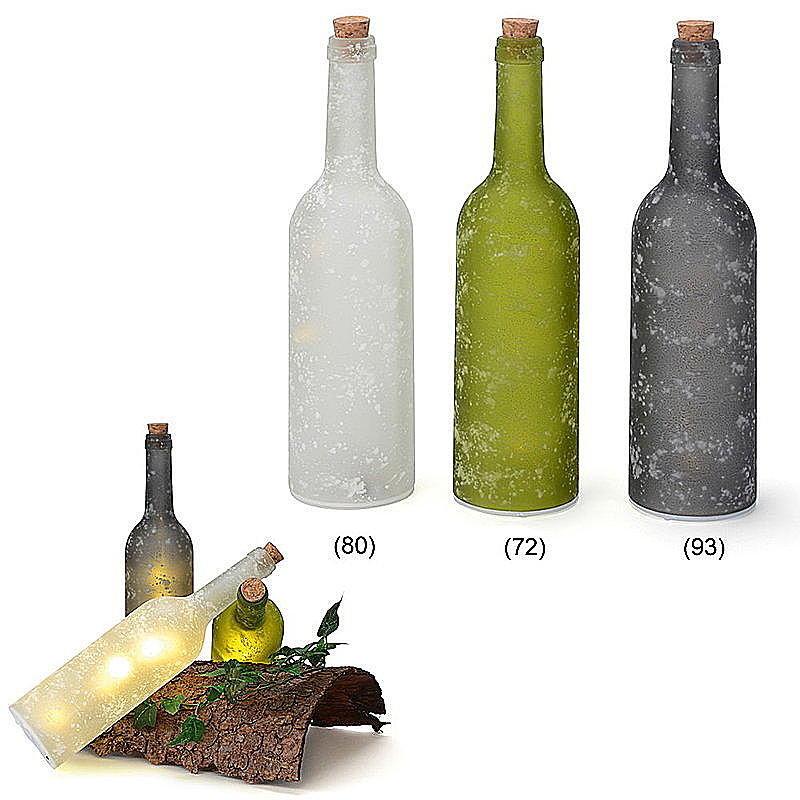 Led flasche aus glas g nstig online bestellen for Kuchenruckwand aus glas gunstig