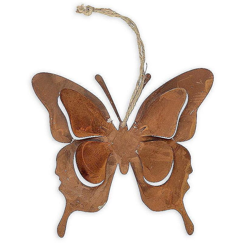Metallh Nger Schmetterling Rost G Nstig Online Bestellen