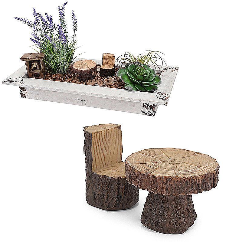 miniatur tisch und stuhl in holzoptik g nstig online bestellen. Black Bedroom Furniture Sets. Home Design Ideas