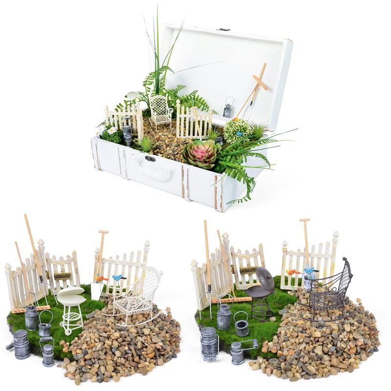 Minigarten Deko-Set, 13-teilig Günstig Online Bestellen