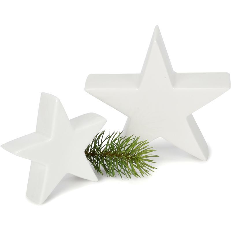 20 Dekobälle beflockt weiß Weihnachtsdeko Winter