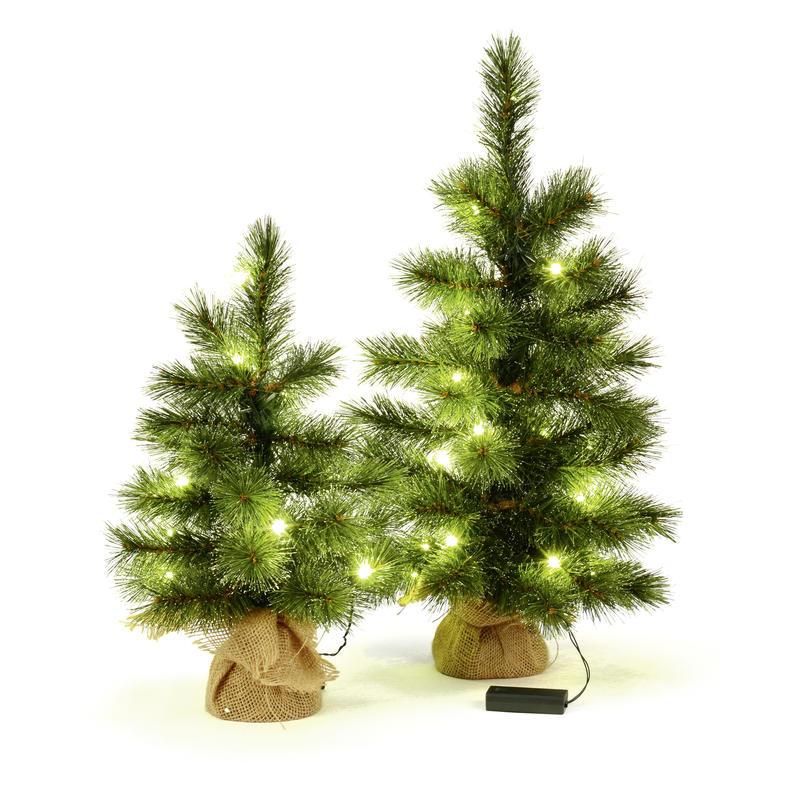 Tannenbaum Der Schneit.Tannenbaum Mit Led Und Beschneite Spitzen Kiefernbaum Weihnachtsdeko