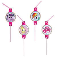 8 'My Little Pony' Trinkhalme