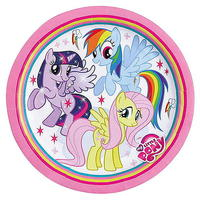 8 'My Little Pony' Pappteller 23 cm Ø