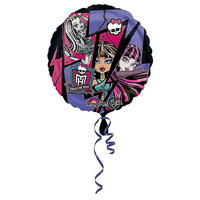 Monter High Folienballon rund, 43 cm