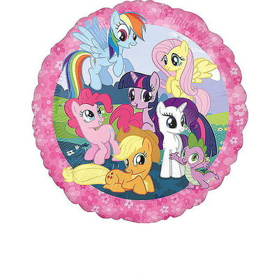 My Little Pony Folienballon rund, 43 cm
