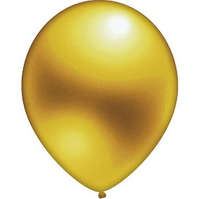 10 Luftballon gold
