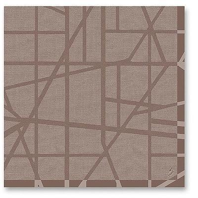 50 duni dunilin servietten maze greige g nstig online bestellen. Black Bedroom Furniture Sets. Home Design Ideas
