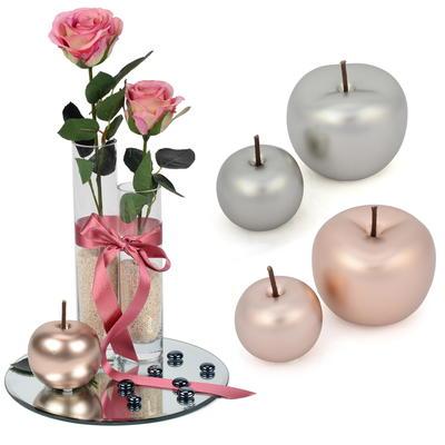 deko apfel rosegold und silber g nstig online bestellen. Black Bedroom Furniture Sets. Home Design Ideas