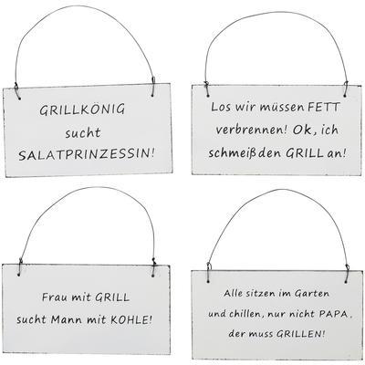 Schilder mit Sprüchen im online Shop kaufen - Baumann Creative