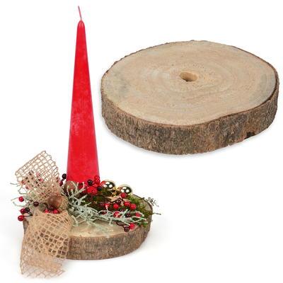Holzschalen gef e im online shop kaufen baumann creative - Holzscheibe rund ...