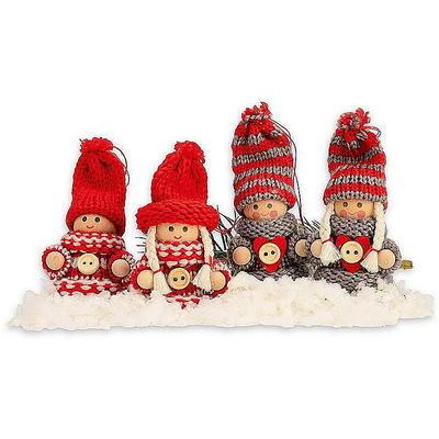 Weihnachtsfiguren Wichtel Aus Keramik Holz Und Kunststoff