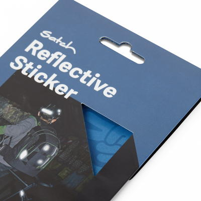 satch Reflective Sticker, blue