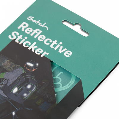 satch Reflective Sticker, mint