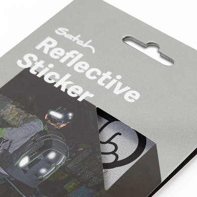 satch Reflective Sticker, silver